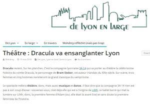 Dracula Lyon Presse