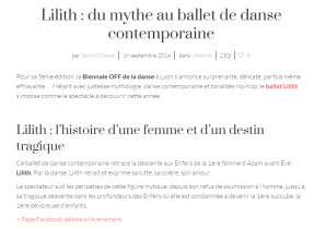 ballet lilith