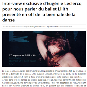 interview eugénie leclercq