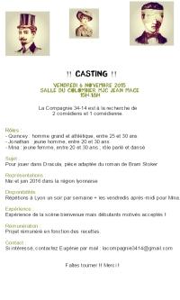 casting dracula